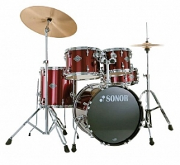 Ударная установка 17200311 Sonor SMF 11 Stage 2 Set WM 11228 Smart Force Red