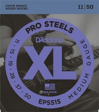 Струны для электрогитары D`Addario EPS515 XL ProSteels (USA) 11-50